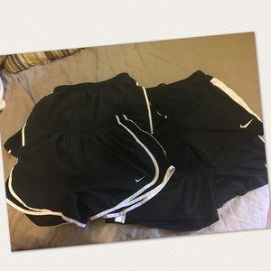 Lot of Nike shorts- Women's Small